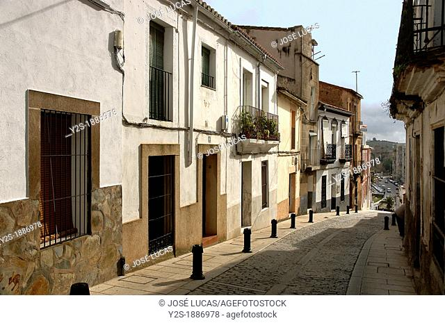 Alley, Caceres, Spain