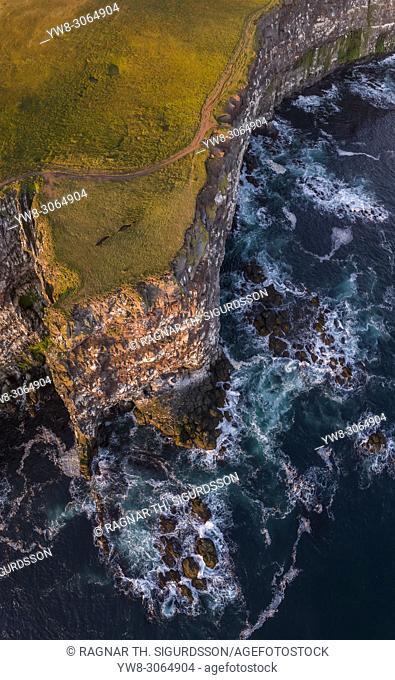 Latrabjarg cliffs, West Fjords, Iceland