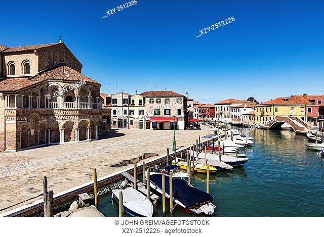 Venetian island of Murano, Italy. Famous for it's many furnaces and hand made glass