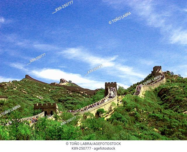 Badaling section, Great Wall. China