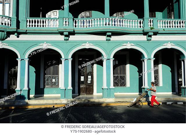 old building in Santa Clara,Villa Clara Province,Cuba