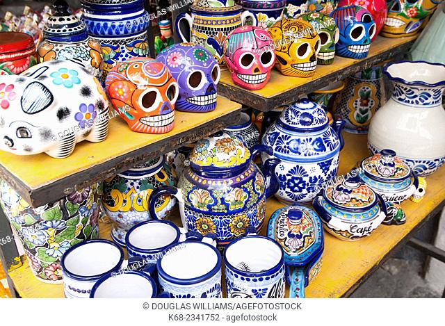 Ceramics in Puebla, Mexico