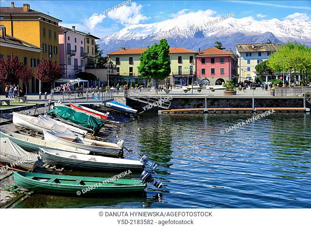 Colico, province Lecco, Lombardy, Italy