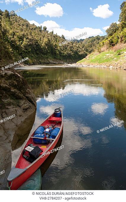 Whanganui River National Park. New Zealand