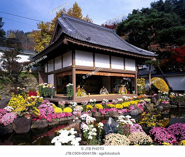 Autumn, Nihommatsu, Chrysanthemum doll show, Nihommatsu, Fukushima, Japan