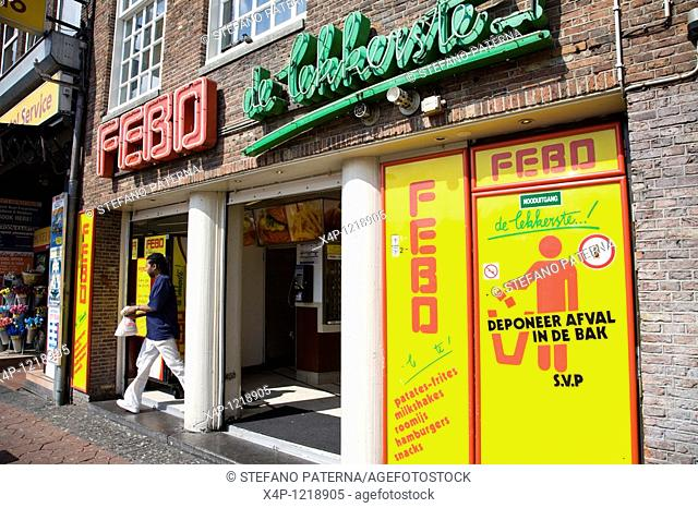 Febo-Station self service food, Amsterdam