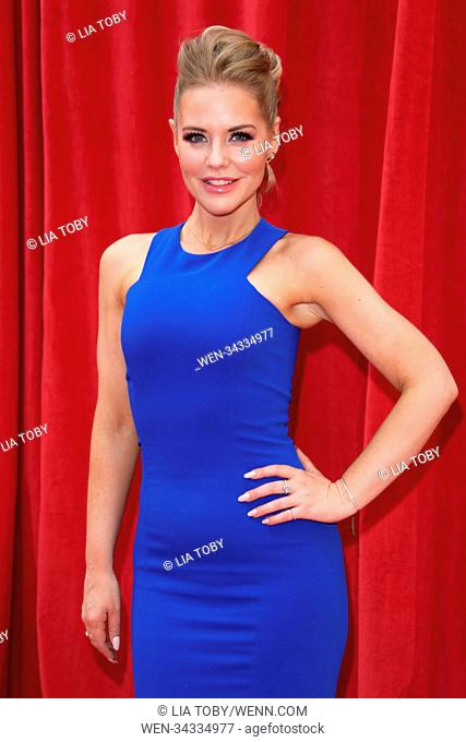 The British Soap Awards 2018 held at the Hackney Empire - Arrivals Featuring: Stephanie Waring Where: London, United Kingdom When: 02 Jun 2018 Credit: Lia...