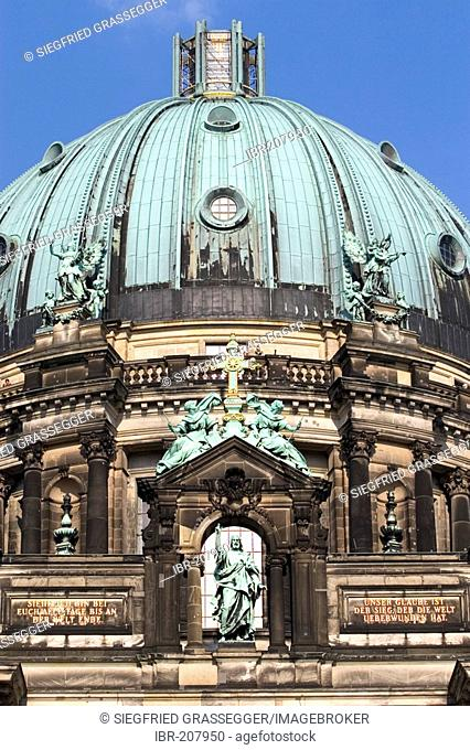 Berlin Cathedral in Berlin Mitte, Germany