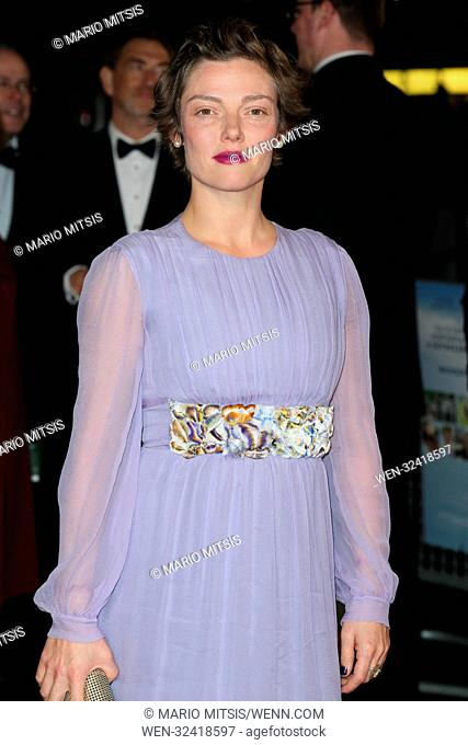 The BFI LFF Opening Night Gala UK Premiere of 'Breathe' held at the Odeon Leicester Square - Arrivals Featuring: Camilla Rutherford Where: London