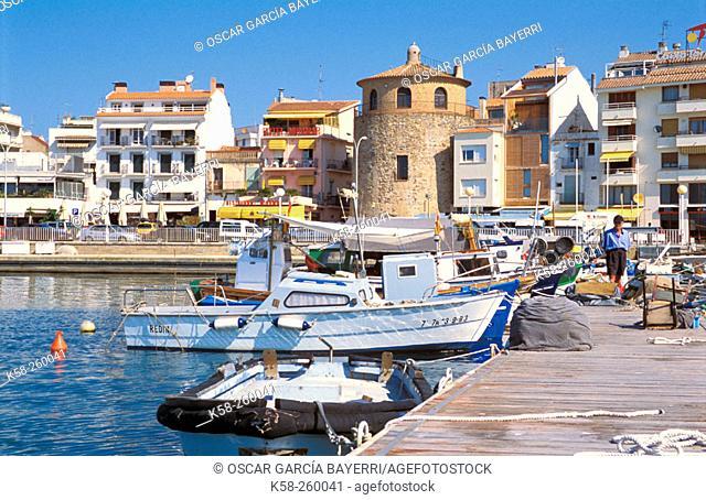 Cambrils. Tarragona province. Spain