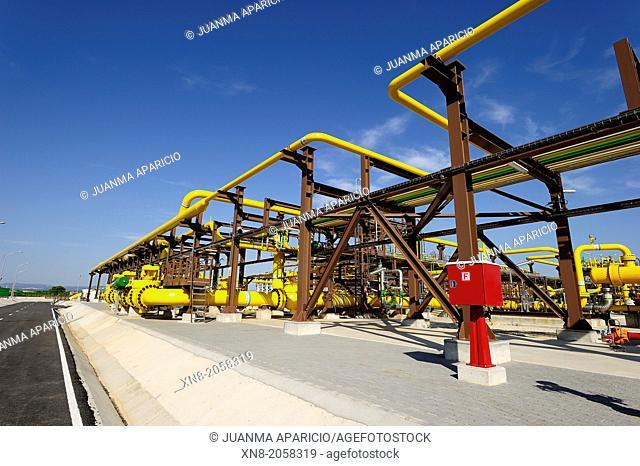 Castor Gas Plant, Vinaroz, Alicante, Spain, Europe