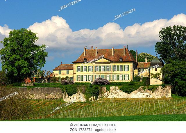 Domaine du Château de Vullierens, Schloss Vullierens, Kanton Waadt, Schweiz / Domaine du Château de Vullierens, Castle of Vullierens, Canton of Vaud