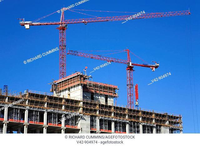 Reval Casino Construction, Atlantic City Boardwalk, New Jersey, USA