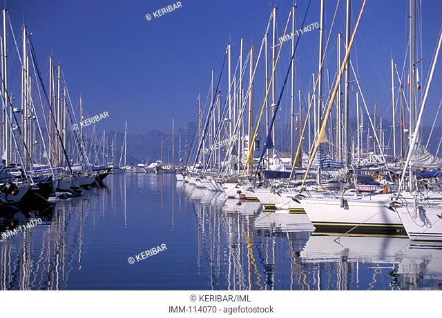 Istanbul, Marmaris marina, boats