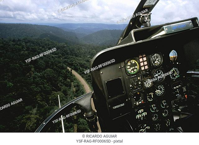 Helicopter, Amazônia, Brazil