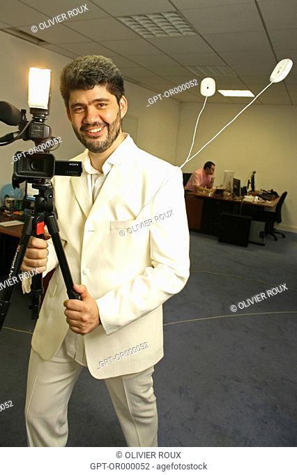 RODRIGO SEPULVEDA, FOUNDER AND CEO OF VPOD TV, ON-LINE VIDEO SHARING, NET ECONOMY