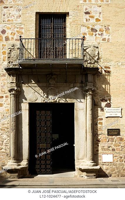House of Hernan Perez del Pulgar, Ciudad Real, Castilla-La Mancha, Spain