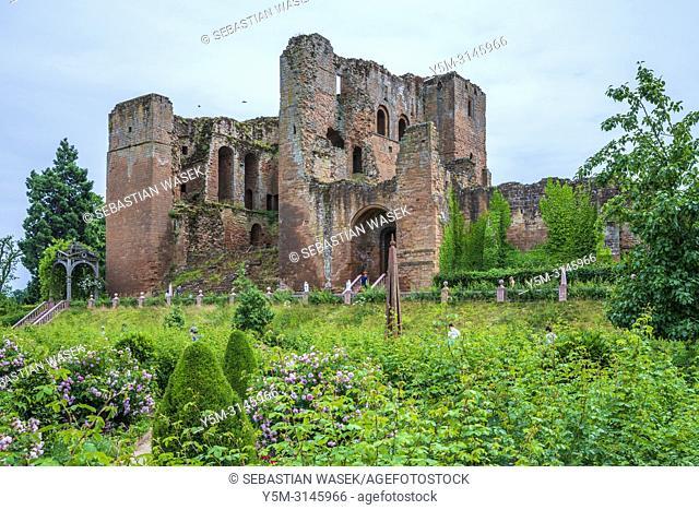 Kenilworth Castle, Warwickshire, West Midlands, England, United Kingdom, Europe