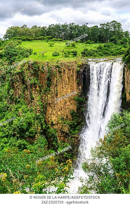 Howick Falls on the Umgeni River. Howick. KwaZulu Natal Midlands. South Africa