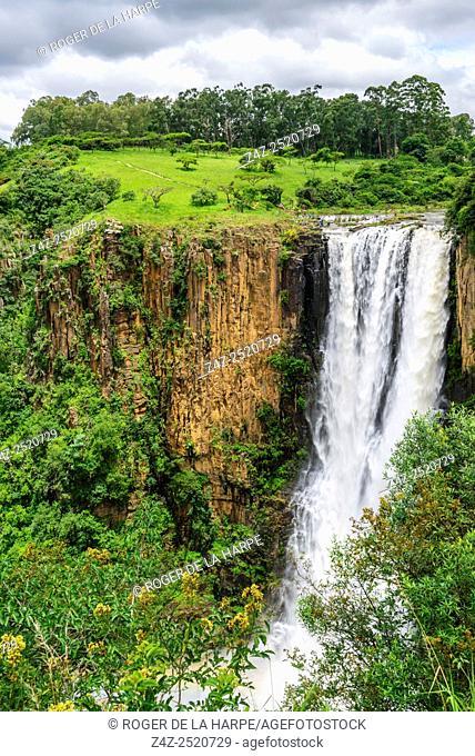Howick Falls on the Umgeni River. Howick. KwaZulu Natal Midlands. South Africa
