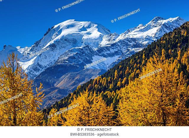 Piz Morteratsch, 3751 m, Switzerland, Grisons, Oberengadin