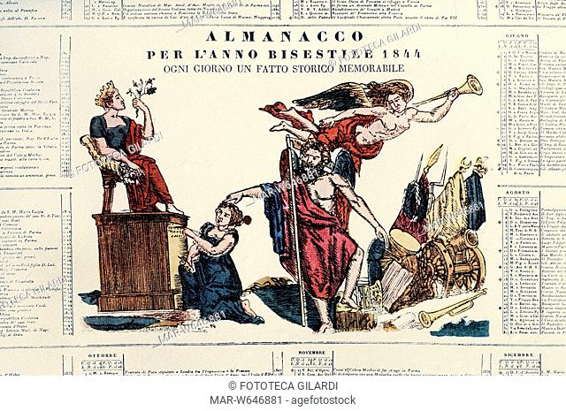 Calendario Almanacco.Calendario Almanacco Stock Photos And Images Age Fotostock