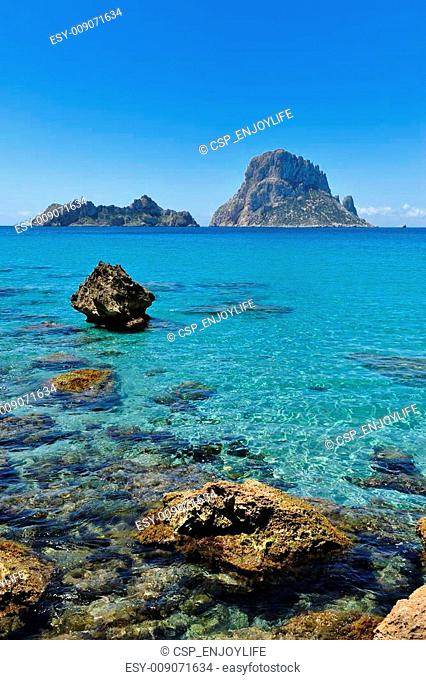 Es Vedra Cala d\'Hort Ibiza Spain