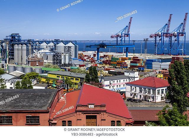 Odessa Marine Trade Port, Odessa, Ukraine
