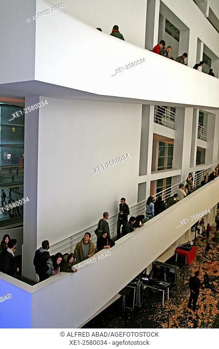 MACBA, Museu d'Art Contemporani de Barcelona, Barcelona, Catalonia, Spain