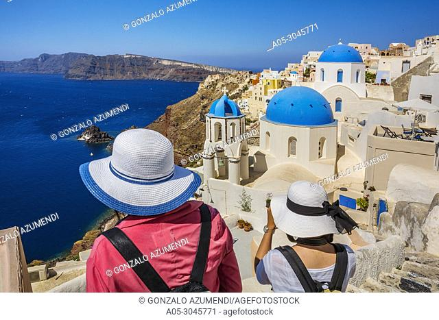 Oia. Santorini Island. Ciclades Islands. Greece