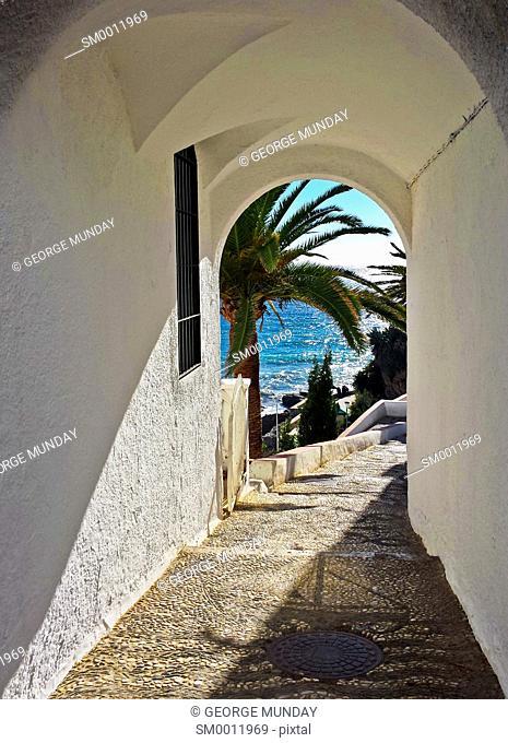 Pathway to Playa Calahonda,