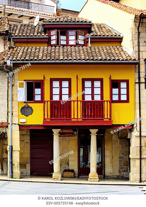 Aviles - beautiful small city in Asturias Region, northen Spain