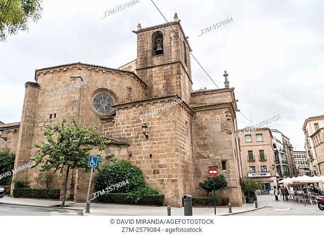 Iglesia de San Juan. Ciudad de Cáceres. Extremadura. España. Patrimonio de la Humanidad. Conjunto histórico artístico