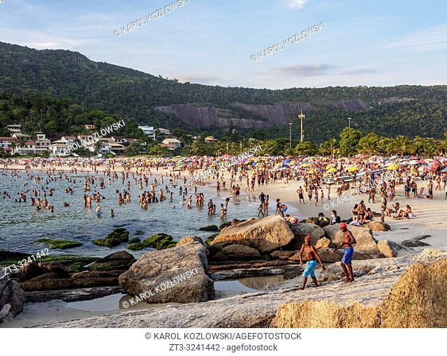 Prainha de Piratininga, beach, Niteroi, State of Rio de Janeiro, Brazil