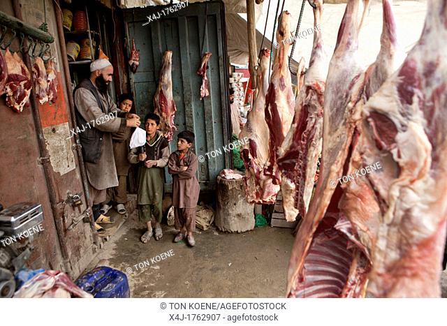 Butcher in kabul