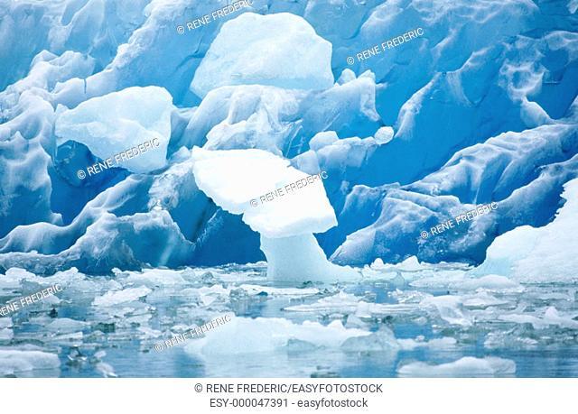 Ice formations. Alaska. USA