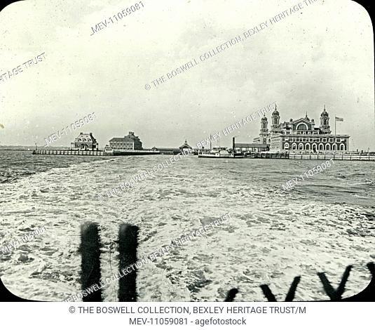 USA - Ellis Island and Immigration Station - Ellis Island and Immigration Station. From 1892 to 1954, over twelve million immigrants entered the United States...