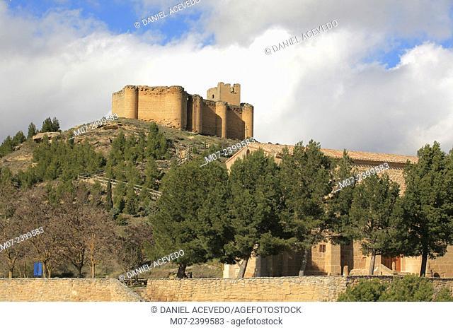 Davalillo castle in San Asensio, La Rioja, Spain, Europe