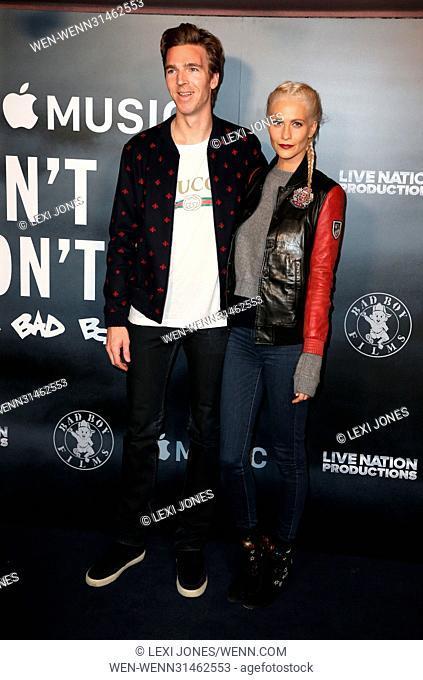 'Cant Stop, Wont Stop: A Bad Boy Story' Screening - Arrivals Featuring: James Cook, Poppy Delevingne Where: London, United Kingdom When: 16 May 2017 Credit:...