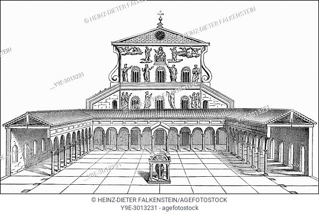 Old St. Peter's Basilica, Vatican, Rome, Italy, 13th century