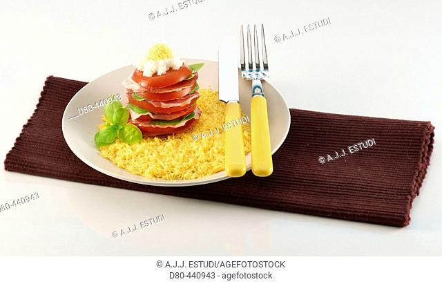 'Montadito' of ham