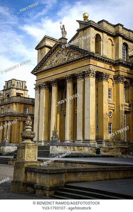 Blenheim Palace, Woodstock, Oxfordshire, England, UK