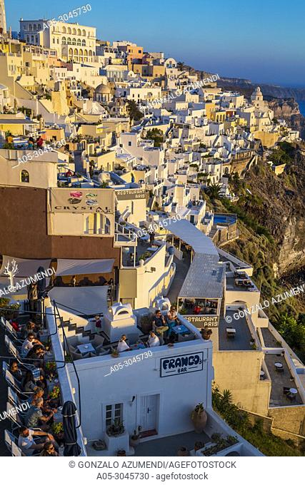 Thira. Santorini Island. Ciclades Islands. Greece