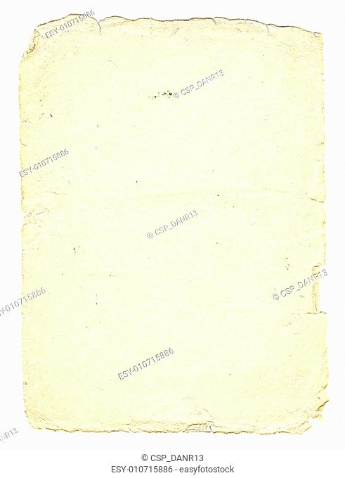 Vintage paper with space for text, soft-vanilla color, vertical orient