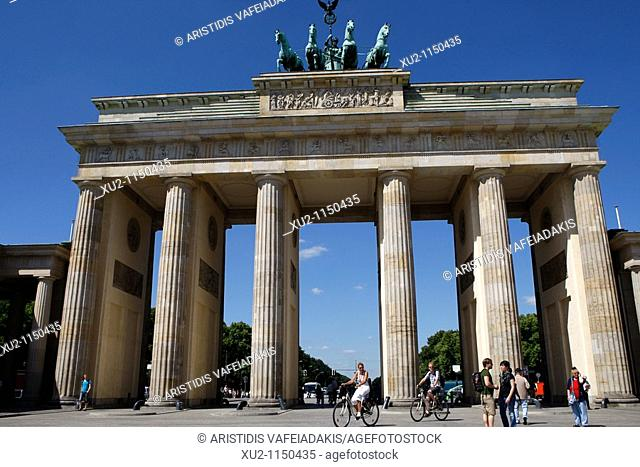 Brandenburger Tor  The famous gate went from symbol of division to symbol of a reunited Germany