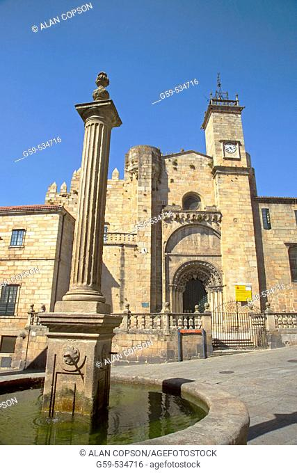 Cathedral, Orense. Galicia, Spain