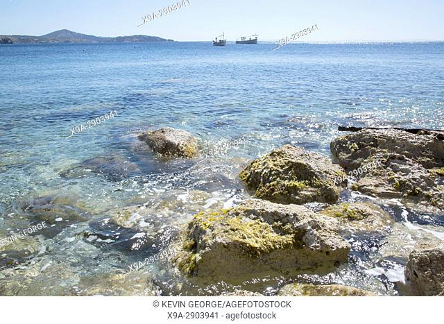 Ullastre Beach, Es Cubells; Ibiza; Spain