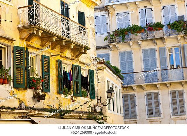 City of Corfu, Corfu, Ionian Islands, Greece, Mediterranean Sea