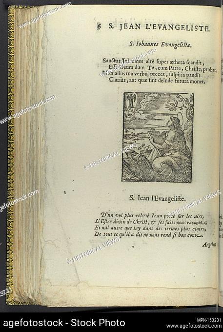 Icones historicae Veteris et Novi Testament. Illustrator: Illustrated by Bernard Salomon (French, ca. 1508-ca. 1561); Publisher: Published by Samuel de Tournes