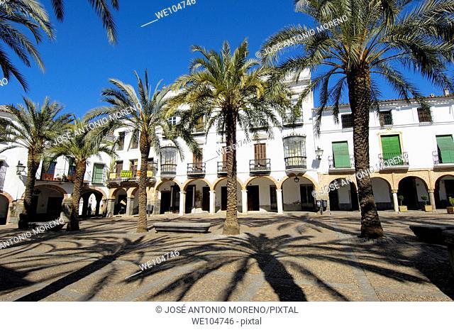 Plaza Grande, Zafra, Badajoz province, Extremadura, Spain